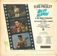 ELVIS PRESLEY Blue Hawaii Vinyl Record LP RCA Victor 1962.